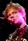 Ed Sheeran op Crossing Border 2011