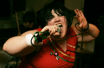 Beth Ditto van The Gossip